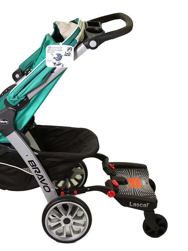 BuggyBoard Maxi + Chicco-Trio Travel System, small image 1
