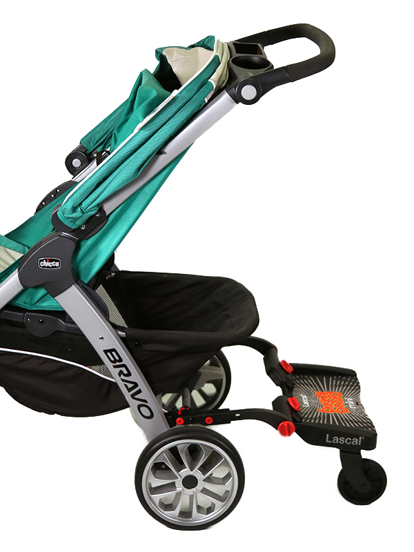 BuggyBoard Mini + Chicco-Trio Travel System, small image 1