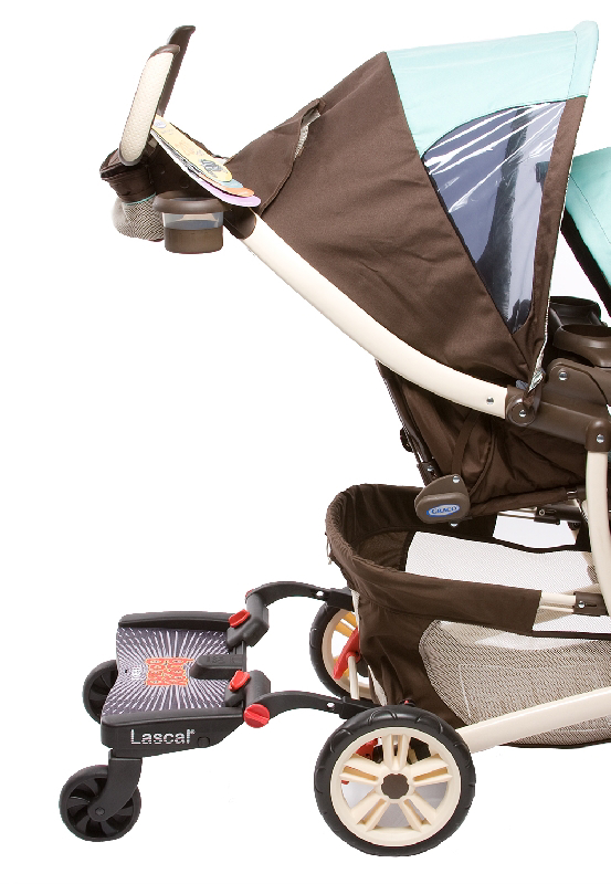 BuggyBoard Maxi + Graco-Quattro Tour Duo, small image 1