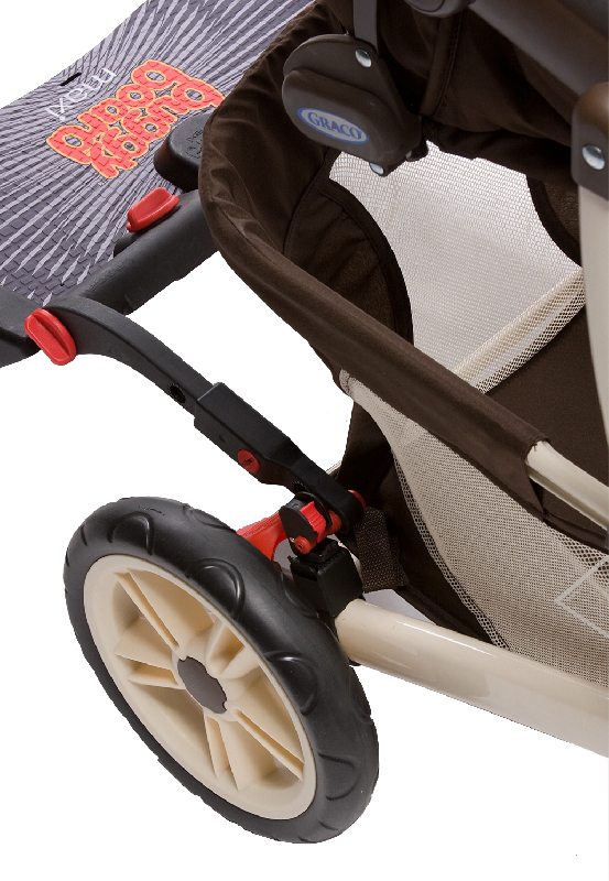 BuggyBoard Maxi + Graco-Quattro Tour Duo, small image 2