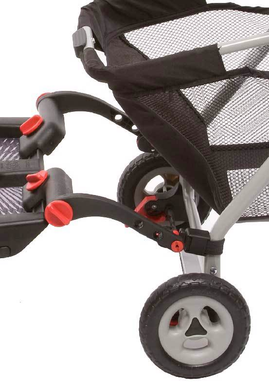 BuggyBoard Mini + Graco-SnugRider, small image 2