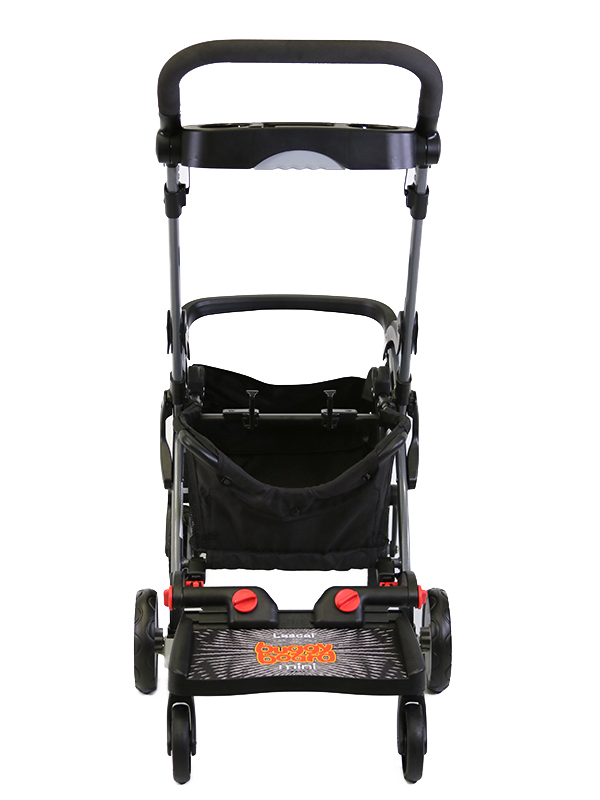 BuggyBoard Mini + Graco-SnugRider Elite, small image 2