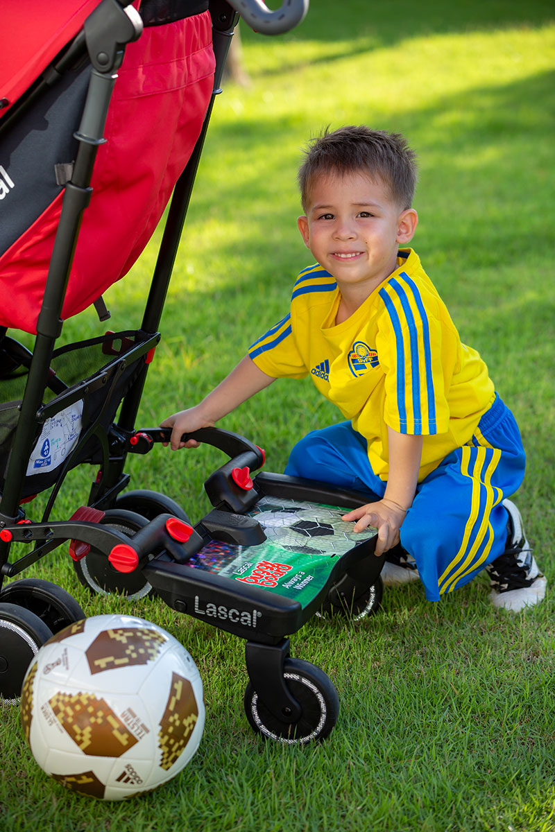 BuggyBoard Maxi World Cup 2018 design football player