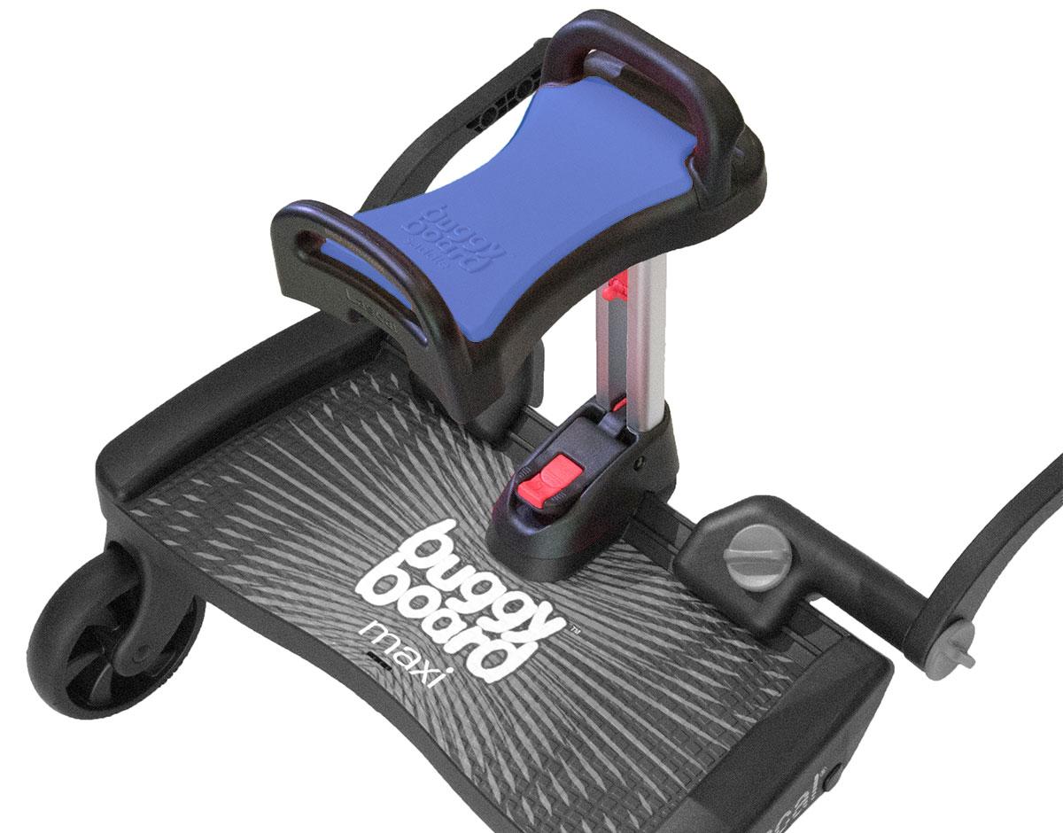 Maxi Blue BuggyBoard Buggy Board Plus Blue Saddle Lascal